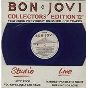 Click here for more info about 'Bon Jovi - Let It Rock - Blue vinyl'