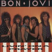 Click here for more info about 'Bon Jovi - Livin' On A Prayer - Card Sleeve/Paper Label'