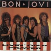 Click here for more info about 'Bon Jovi - Livin' On A Prayer - Green Vinyl - EX'