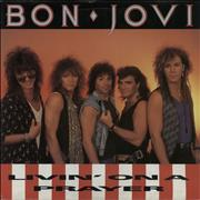 "Bon Jovi Livin' On A Prayer - Injection Moulded UK 7"" vinyl"