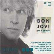 Click here for more info about 'Bon Jovi - Say It Isn't So - Part 1'
