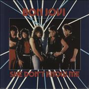 Click here for more info about 'Bon Jovi - She Don't Know Me - EX'