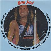 Click here for more info about 'Bon Jovi - Slippery When Wet + poster'