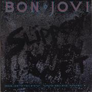 Bon Jovi Slippery When Wet - White Label UK vinyl LP
