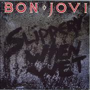 Click here for more info about 'Bon Jovi - Slippery When Wet'