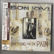 Click here for more info about 'Bon Jovi - Something For The Pain + Obi'