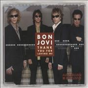 Click here for more info about 'Bon Jovi - Thank You For Loving Me'