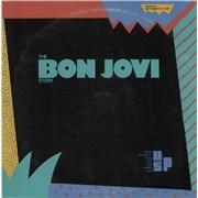 Click here for more info about 'Bon Jovi - The Bon Jovi Story - Clear Vinyl'
