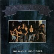 Click here for more info about 'Bon Jovi - The Jersey Syndicate Tour - Blue Cover'