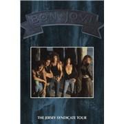 Bon Jovi The Jersey Syndicate Tour - Blue Cover + Ticket stubs UK tour programme