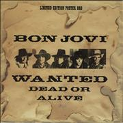 Click here for more info about 'Bon Jovi - Wanted Dead Or Alive - EX'