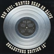 Click here for more info about 'Wanted Dead Or Alive - Silver vinyl'