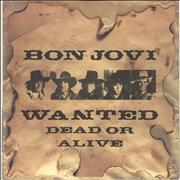 Click here for more info about 'Bon Jovi - Wanted Dead Or Alive'