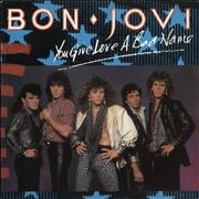 Click here for more info about 'Bon Jovi - You Give Love A Bad Name + Poster'