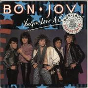 Click here for more info about 'Bon Jovi - You Give Love A Bad Name - Stickered + Poster'