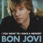 Click here for more info about 'Bon Jovi - [You Want To] Make A Memory'