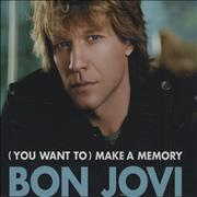 Click here for more info about 'Bon Jovi - (You Want To) Make A Memory'