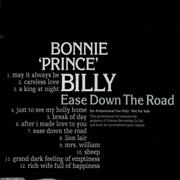 Click here for more info about 'Bonnie Prince Billy - Ease Down The Road'