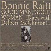 Click here for more info about 'Bonnie Raitt - Good Man Good Woman'