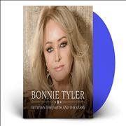 Click here for more info about 'Bonnie Tyler - Between The Earth And The Stars - NAD 2020 - Blue Vinyl'