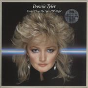 Click here for more info about 'Bonnie Tyler - Faster Than The Speed Of Night - Circular Sticker'