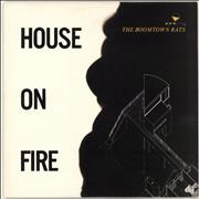 Click here for more info about 'Boomtown Rats - House On Fire'
