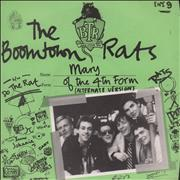 Click here for more info about 'Boomtown Rats - Mary Of The 4th Form - Green Sleeve'