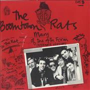 Click here for more info about 'Boomtown Rats - Mary Of The 4th Form - Red Sleeve'