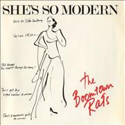 Click here for more info about 'Boomtown Rats - She's So Modern + Sleeve'