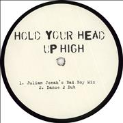 Click here for more info about 'Boris Dlugosch - Hold Your Head Up High - White Label'