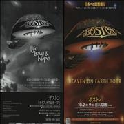 Click here for more info about 'Boston - Heaven On Earth Tour: Live In Tokyo'
