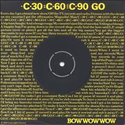 Click here for more info about 'Bow Wow Wow - C'30 C'60 C'90 Go'