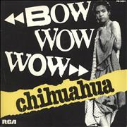 Click here for more info about 'Bow Wow Wow - Chihuahua'