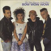 Click here for more info about 'Bow Wow Wow - Do You Wanna Hold Me ?'