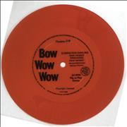 Click here for more info about 'Bow Wow Wow - Elimination Dancing - Red Flexi'