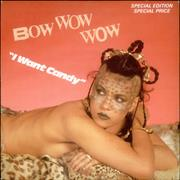 Click here for more info about 'Bow Wow Wow - I Want Candy - etched'