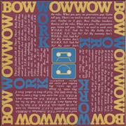 Click here for more info about 'Bow Wow Wow - Work - Pink Sleeve'