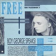 Click here for more info about 'Boy George - Boy George Speaks - Interview Flexi Disc'