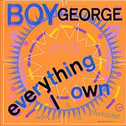 Click here for more info about 'Boy George - Everything I Own - Glossy Sleeve'
