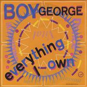 Click here for more info about 'Boy George - Everything I Own - Matt Sleeve'