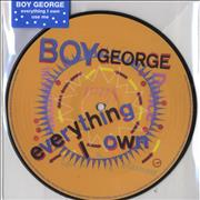 Click here for more info about 'Boy George - Everything I Own - Stickered PVC Sleeve'