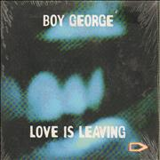 Click here for more info about 'Boy George - Love Is Leaving - Sealed'