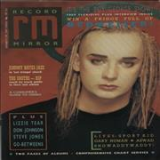 Click here for more info about 'Boy George - Record Mirror + Smiths Tribute'