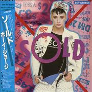 Click here for more info about 'Boy George - Sold + poster'