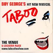 Click here for more info about 'Boy George - Taboo'