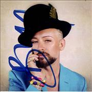 Click here for more info about 'Boy George - This Is What I Do + Signed Card'