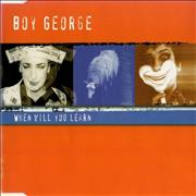 Click here for more info about 'Boy George - When Will You Learn - Sealed'