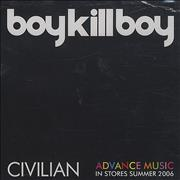 Click here for more info about 'Boy Kill Boy - Civilian'