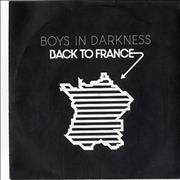 Click here for more info about 'Boys In Darkness - Back In France'