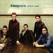 Click here for more info about 'Boyzone - All That I Need'